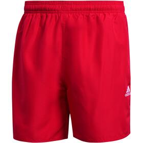 adidas Solid CLX Short Length Shorts Men, team colleg red/white